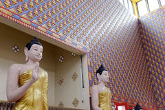 Buddha statue in Thailand Buddha Temple. Stock Photos