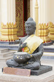 Buddha statue in Thailand. Buddha statue in Uthaithani Thailand Royalty Free Stock Images