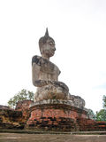 Buddha statue in Thailand. 800 year old Buddha statues made ​​of plaster northern of Thailand Royalty Free Stock Image