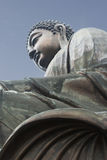 Buddha Statue Tian Tian, Hong Kong Stock Photo