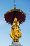 Buddha statue on top of pagoda around Shwedagon Pagoda - Yangon,Burma Royalty Free Stock Photos