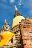Buddha statue of Royalty Free Stock Images