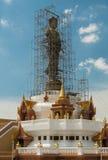 Buddha statue under construction Stock Photo