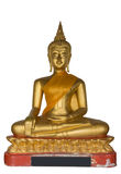 Buddha Statue. Used as amulets of Buddhism religion Royalty Free Stock Photo
