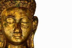 Buddha statue used as amulets of Buddhism religion.  Stock Photography