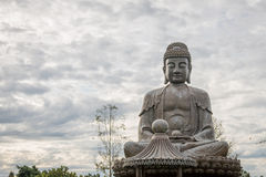 Buddha statue used as amulets of Buddhism Royalty Free Stock Photography