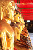 Buddha-Statue von Wat Pho Thailand Stockfoto