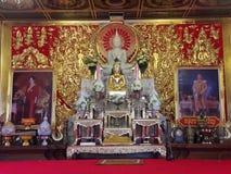 Buddha-Statue von Wat Suthiwararam Stockbilder