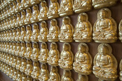 Buddha statue on the wall Royalty Free Stock Photography