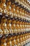 Buddha statue on the wall Stock Photo