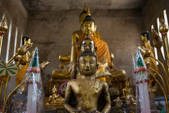 Buddha statue. The Buddha was a core belief of Buddhism Royalty Free Stock Images