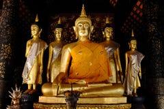 Buddha statue. The Buddha was a core belief of Buddhism Stock Image