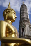 Buddha-Statue Wat Arun Stockbilder
