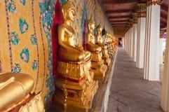 Buddha statue at Wat Arun Temple Stock Photography