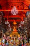 Buddha Statue at Wat Arun - the Temple of Dawn in Bangkok Stock Photos
