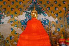 Buddha Statue at Wat Arun - the Temple of Dawn in Bangkok Stock Image