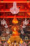 Buddha Statue at Wat Arun - the Temple of Dawn in Bangkok Royalty Free Stock Photography