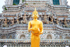 Buddha Statue in Wat Arun Thailand. Royalty Free Stock Photography