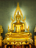 Buddha statue. At Wat Benchamabophit in Bangkok, Thailand Stock Photography