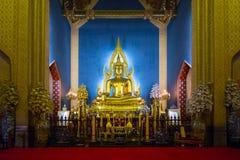 Buddha Statue in Wat Benchamabophit Dusitvanaram,  Bangkok Royalty Free Stock Images