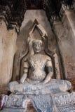 Buddha statue in wat chai wattanaram, ayutthaya, thailand Royalty Free Stock Photo