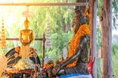 Buddha statue at Wat Hai 03 Stock Images