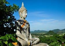 Buddha statue. At Wat KhaoChongpran , Ratburi thailand Stock Photos