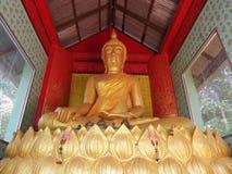 Buddha statue. Buddha at wat khaokaeo province Chantaburi  in Thailand Royalty Free Stock Image