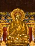 Buddha-Statue in Wat-Leng-Noei-Yi2 bei Thailand Stockbilder