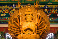 Buddha statue in Wat-Leng-Noei-Yi2 at Thailand Royalty Free Stock Photography