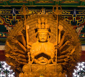 Buddha statue in Wat-Leng-Noei-Yi2 at Thailand Royalty Free Stock Image