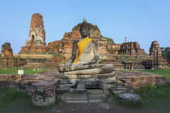 Buddha statue at Wat Maha That. Ayutthaya, Thailand Stock Image