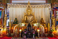 Buddha statue of Wat Nong Wang Khonkaen Thailand 2 Royalty Free Stock Photography
