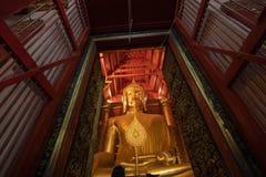 Buddha statue at Wat Phanancheng Worawihan, Phra Nakhon Si Ayutthaya Province