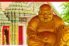 Buddha statue in Wat Pho temple, Bangkok Royalty Free Stock Photography