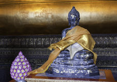 Buddha statue at the Wat Pho Temple Royalty Free Stock Photo