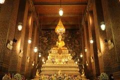 Buddha statue at  wat pho temple in bangkok thailand Stock Photography
