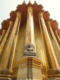 Buddha statue. Wat Phra Kaew Buddha in Thailand Royalty Free Stock Photos