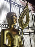 Buddha statue in Wat Phra Si Rattana Mahathat temple ,Phitsanulo Royalty Free Stock Image
