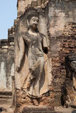 Buddha Statue at Wat Phra Sri Rattana Mahathat Stock Image