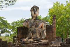 Buddha statue. The Buddha statue at Wat Pra Prang ,Sisatchanalai historical prak Stock Photography