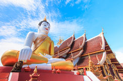 Buddha statue at Wat Rajamontean Royalty Free Stock Photos