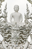Buddha statue at Wat Rongkun Stock Photography