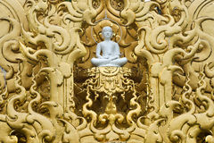 Buddha statue at Wat Rongkun Royalty Free Stock Image