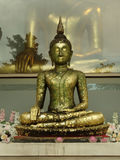 Buddha statue. Statue of Buddha Wat Saket in Bangkok Royalty Free Stock Image
