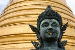 Buddha statue in Wat Saket Royalty Free Stock Image
