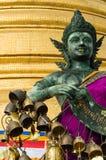 Buddha statue in Wat Saket Stock Images