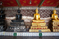 Buddha statue in Wat Suthat Royalty Free Stock Images