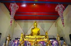 Buddha statue of Wat Tha Ka Rong in Ayutthaya, Thailand Royalty Free Stock Images