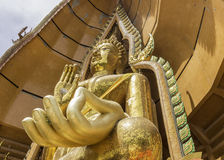 Buddha statue, Wat Tham Sua, Kanchanaburi, Thailand Royalty Free Stock Images